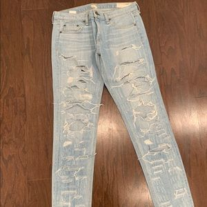 Rag & Bone Dre Distressed Jeans 28